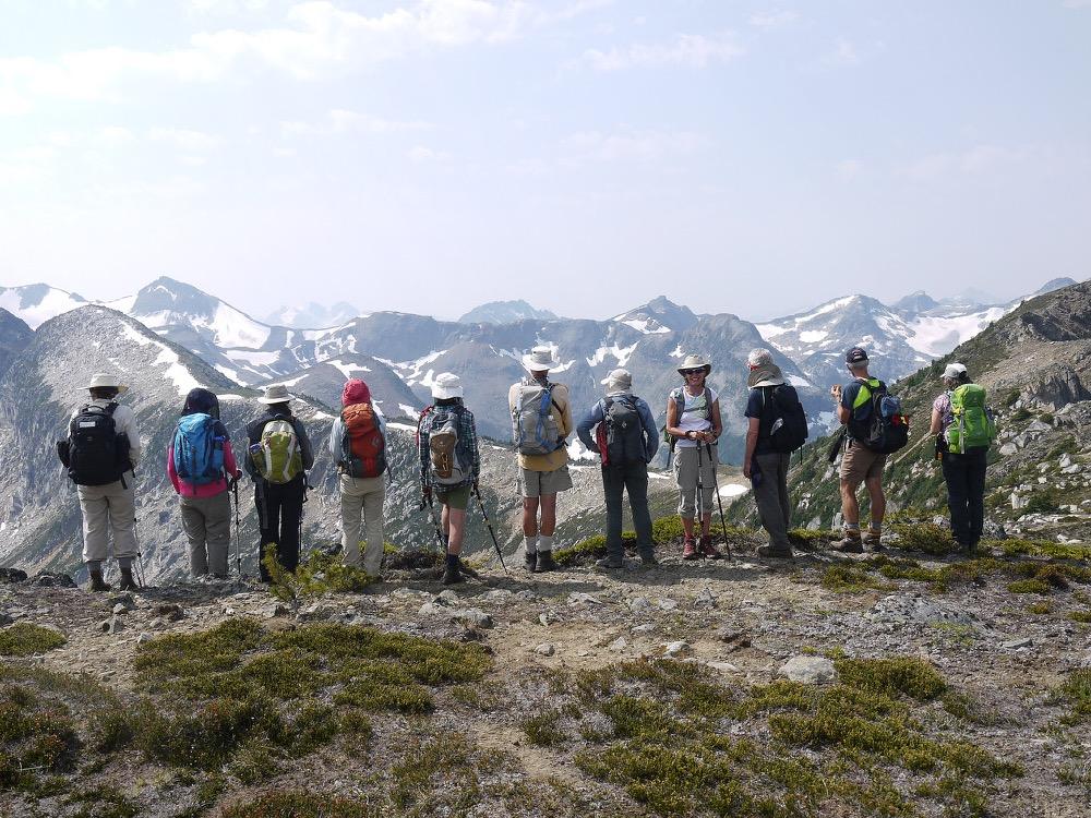 © Jorma Neuvonen - Looking down the lakes from Standard Ridge