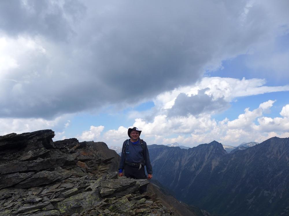 ©Judith Holm - Jorma below Mt. McGillivray