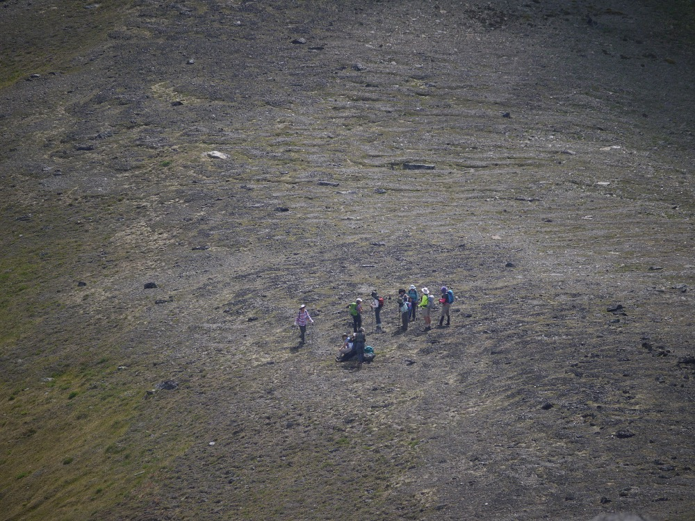 © Jorma Neuvonen - On the ridge by McGliiivray Mt.