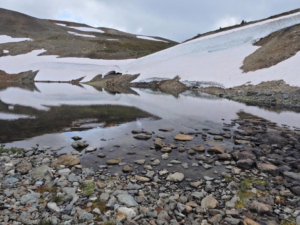 ©Denis Laplante - Star mountain lake