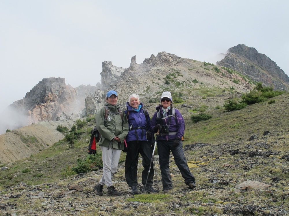 ©Janet Snell - High ridge peak of Star Mtn 1