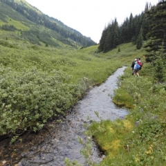©Denis Laplante - Trail up to camp