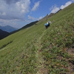©Denis Laplante - Traversing steep sidehill