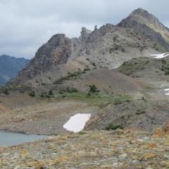 ©Janet Snell - High ridge peak of Star Mtn 2