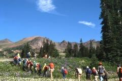 06 - Cinnabar 1980 - Bert Brink hike leaving camp