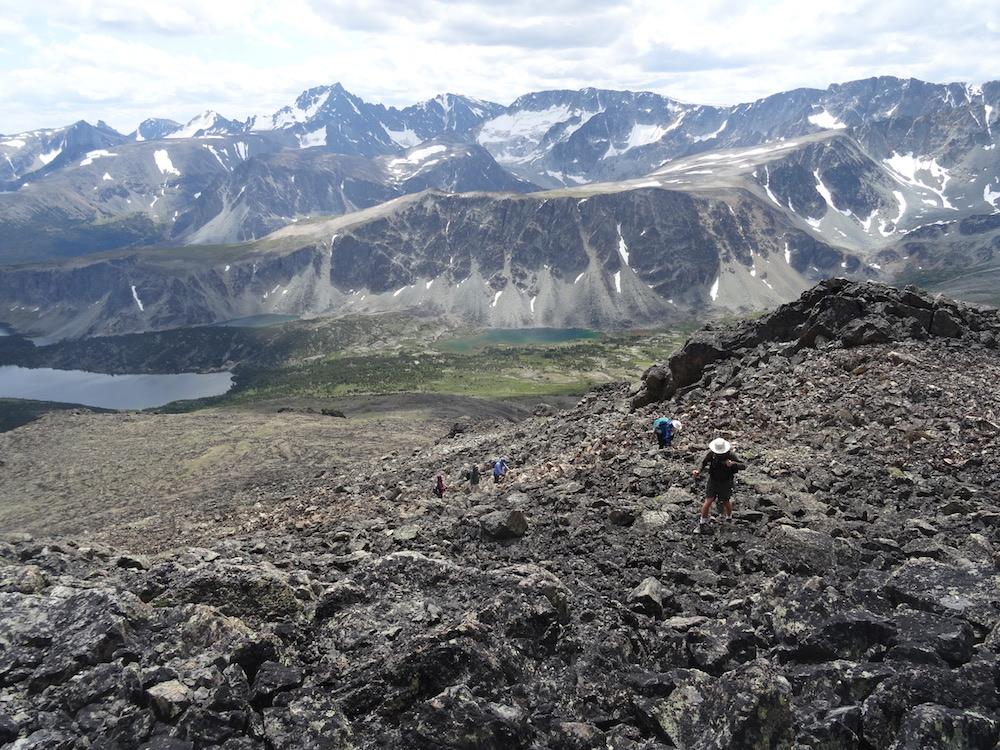 Climbing Ridge Peak © Sabina Harpe