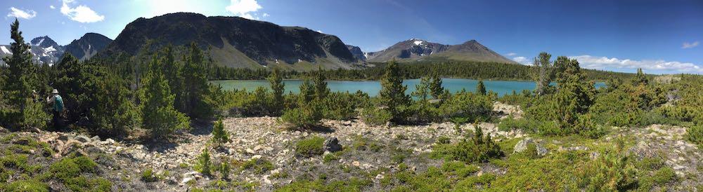 Goose Lake Panorama # 2 © Teresa Gagné
