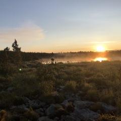 Sunrise over Camp Lake © Sally McDermott