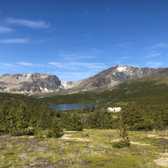 Camp view © Jane Galliazzo