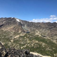 Peak ridge view © Jane Galliazzo